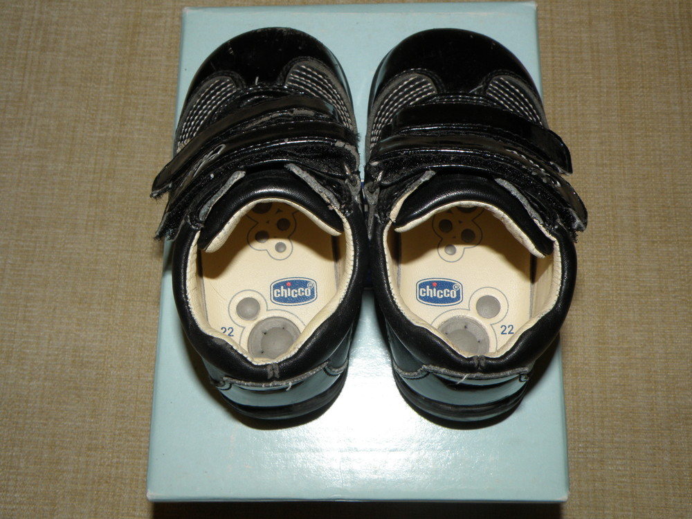 Демисезонные ботиночки chicco фото №4