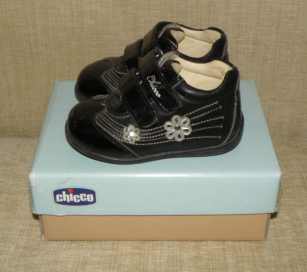 Демисезонные ботиночки chicco фото №2