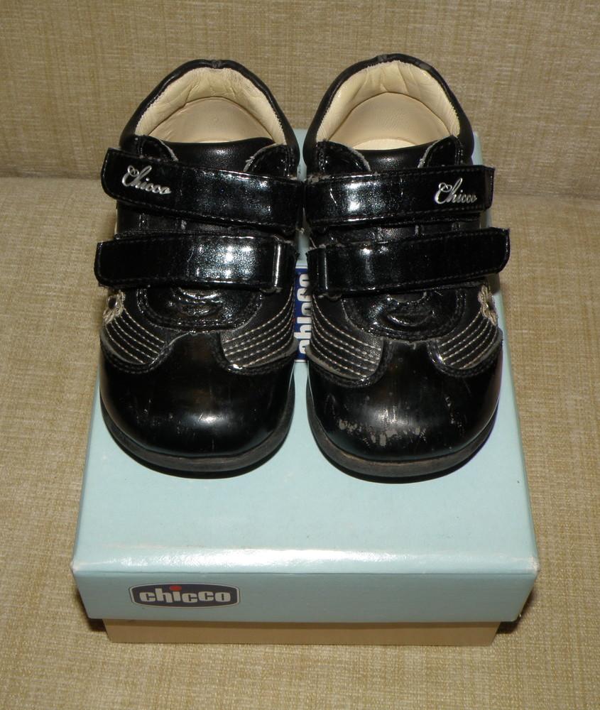 Демисезонные ботиночки chicco фото №3