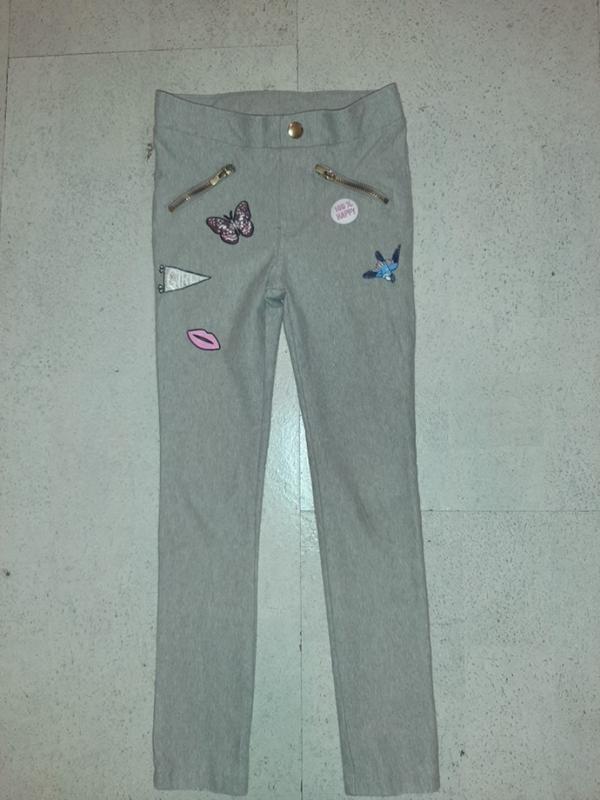 Стильные фирменные леггинсы лосины джинсы штаны h&m фото №1