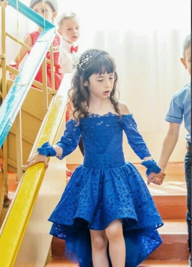 Шикарное выпускное,праздничное,нарядное платье п.110-116 фото №1