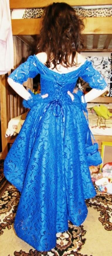 Шикарное выпускное,праздничное,нарядное платье п.110-116 фото №2