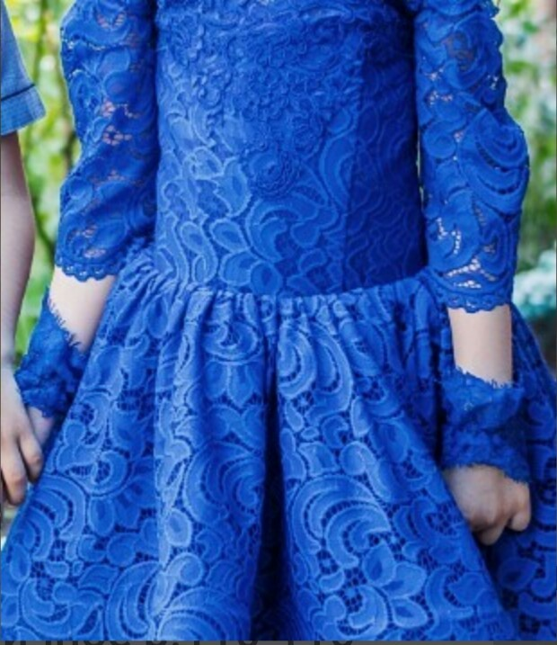 Шикарное выпускное,праздничное,нарядное платье п.110-116 фото №3