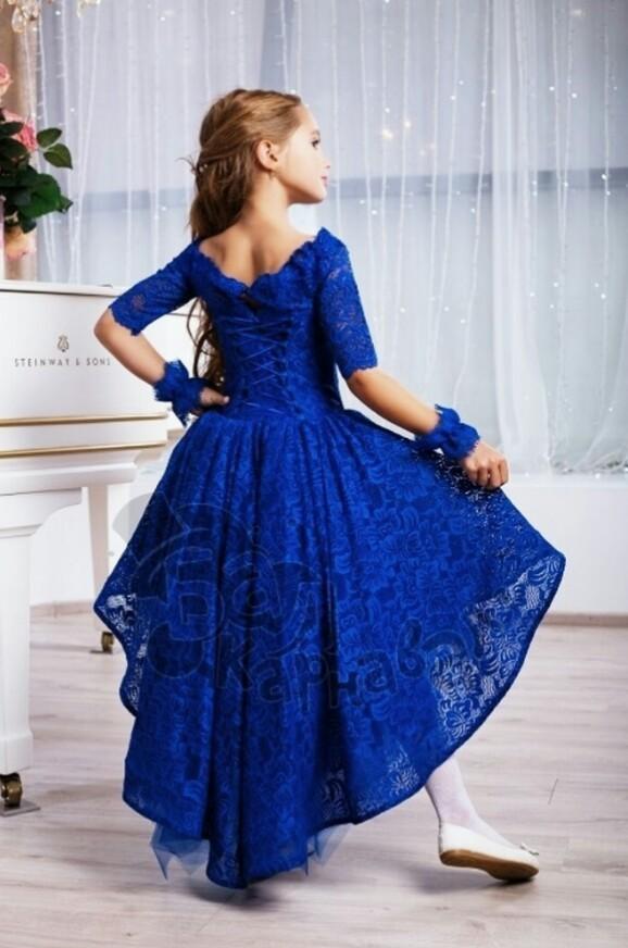 Шикарное выпускное,праздничное,нарядное платье п.110-116 фото №4