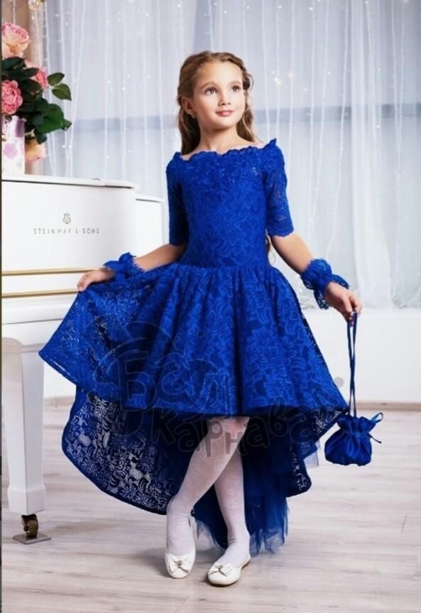 Шикарное выпускное,праздничное,нарядное платье п.110-116 фото №5