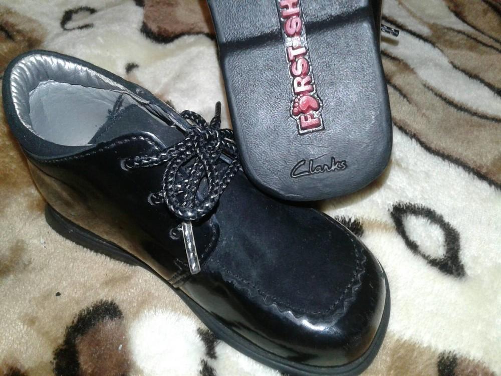 Лаковые туфли кожа 13 см стелька фото №2
