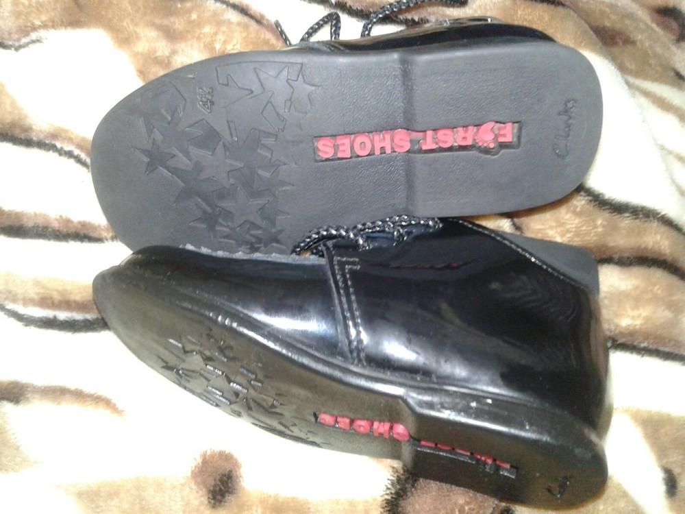 Лаковые туфли кожа 13 см стелька фото №4