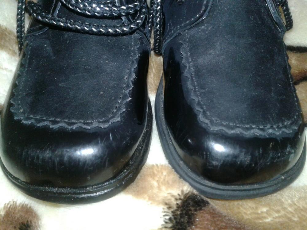 Лаковые туфли кожа 13 см стелька фото №5
