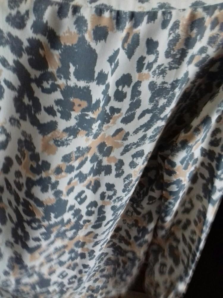 Красивая блузка леопардовый принт,р-р 46-48 фото №2