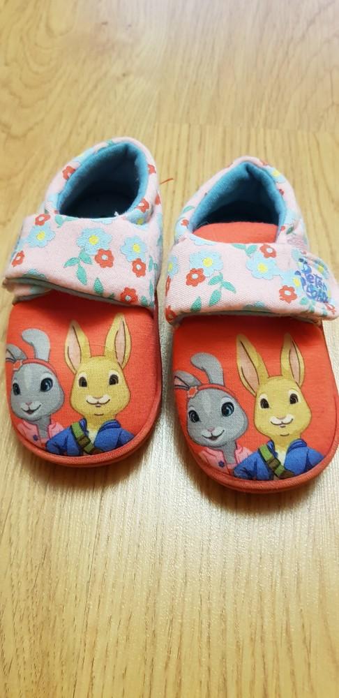 Тапочки с кроликами george фото №1