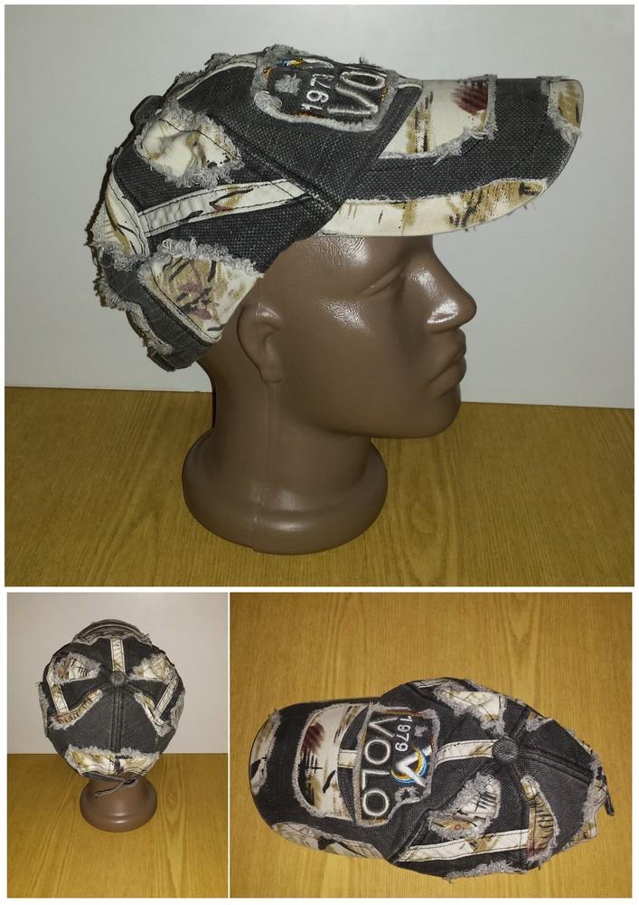 Одежда аксессуары для подростков унисекс головной убор кепка бейсболка об головы 54 см джинсовая фото №1