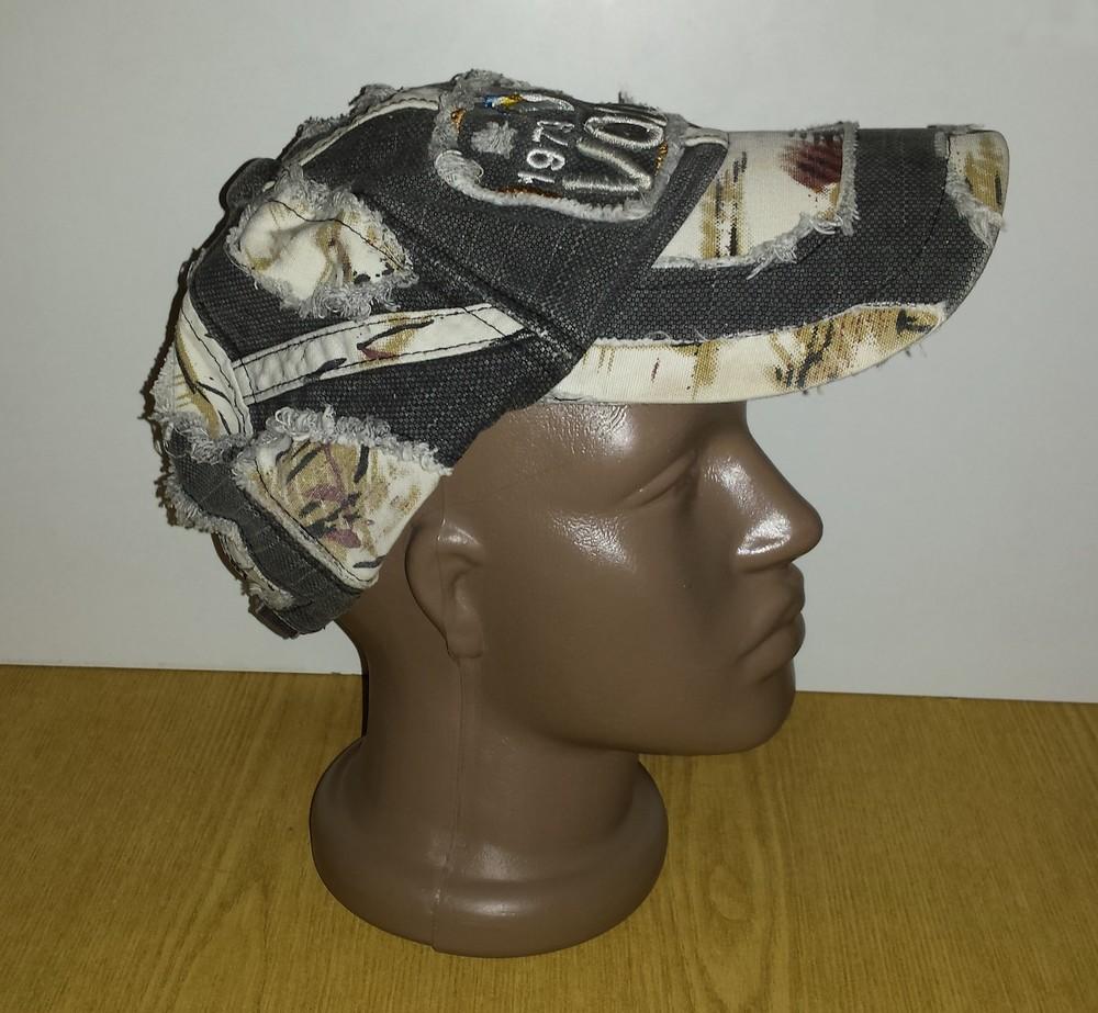 Одежда аксессуары для подростков унисекс головной убор кепка бейсболка об головы 54 см джинсовая фото №2