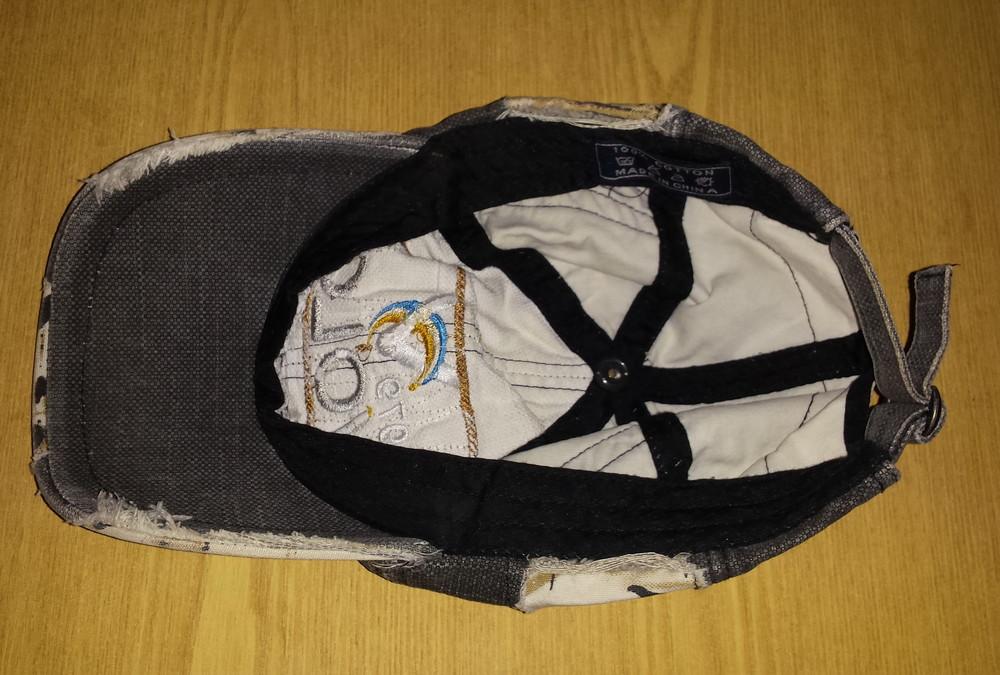 Одежда аксессуары для подростков унисекс головной убор кепка бейсболка об головы 54 см джинсовая фото №5