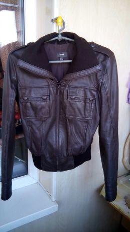 Кожаная куртка mexx, размер s фото №1