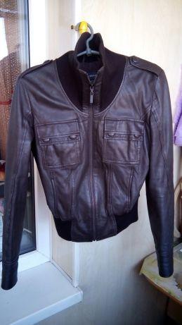 Кожаная куртка mexx, размер s фото №2