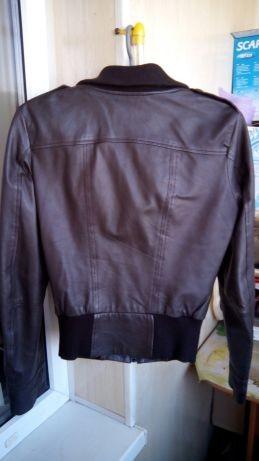 Кожаная куртка mexx, размер s фото №3