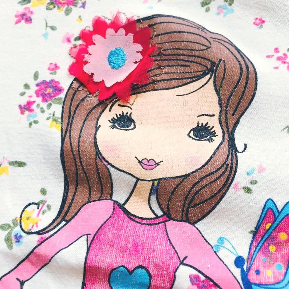 Стильная футболка lc waikiki с нежным цветочным принтом на р128-134 фото №6
