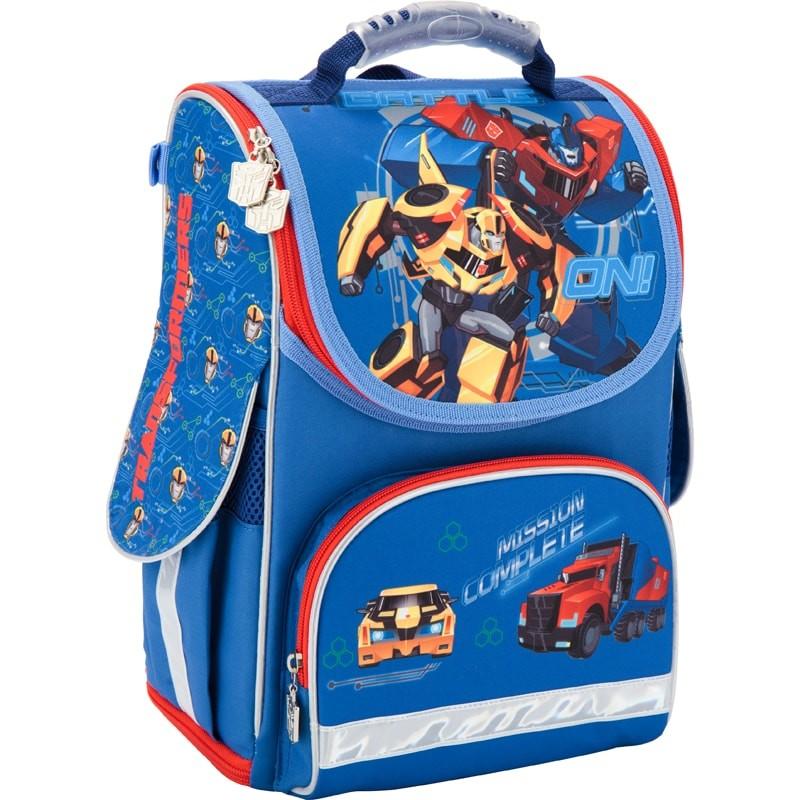 Рюкзак школьный трансформер transformers kite фото №1