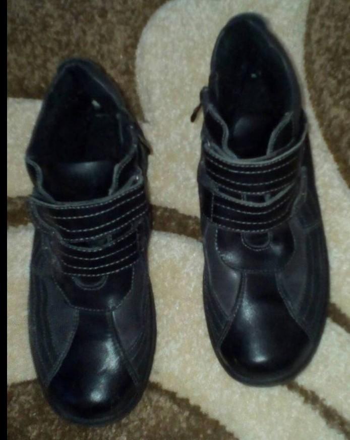 Деми ботинки в отличном состоянии фото №1