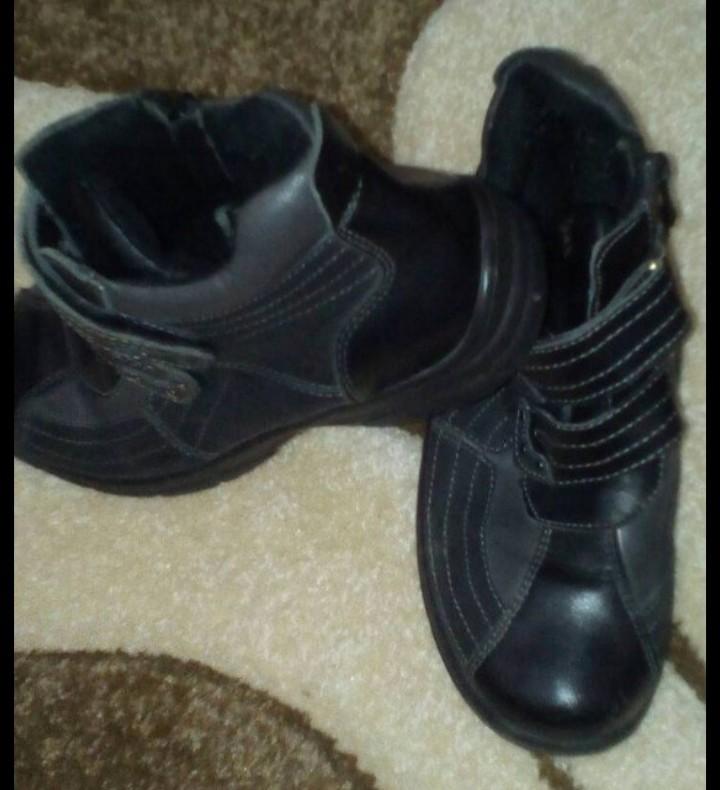 Деми ботинки в отличном состоянии фото №2