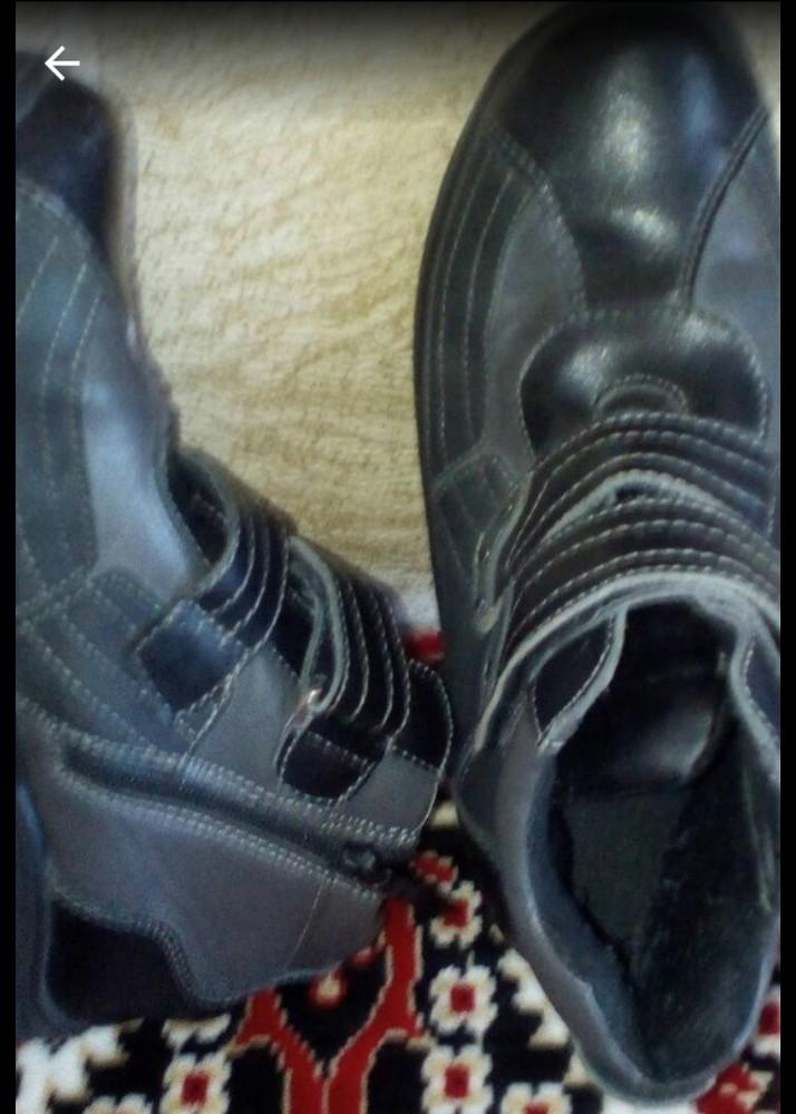 Деми ботинки в отличном состоянии фото №3