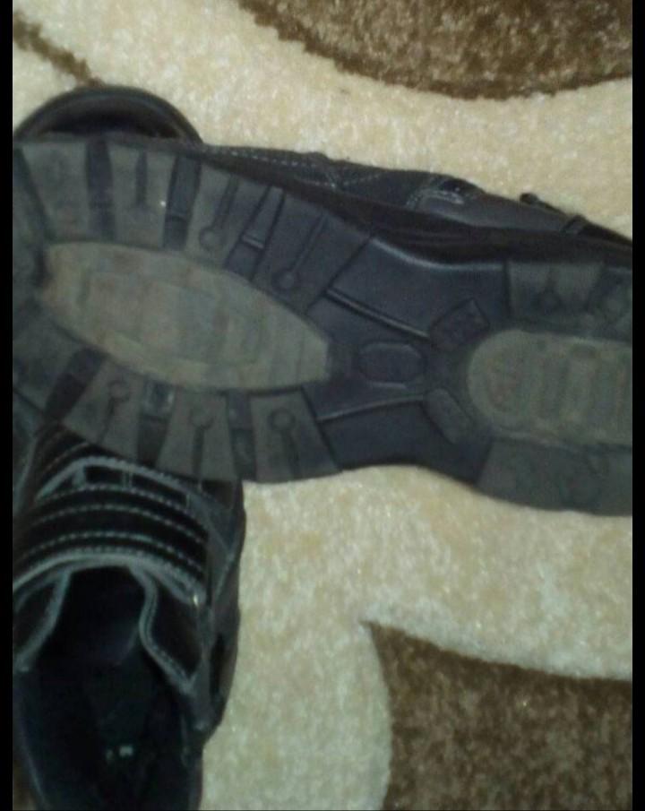 Деми ботинки в отличном состоянии фото №4