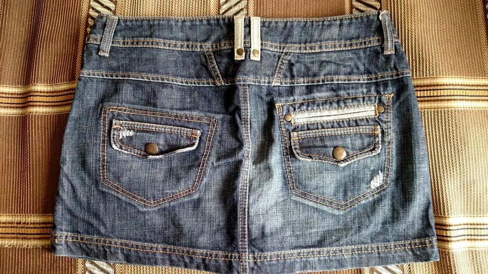 Женская джинсовая юбка фото №2
