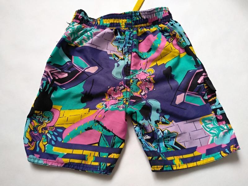 Яркие шорты мальчику на 5-6 лет фото №3