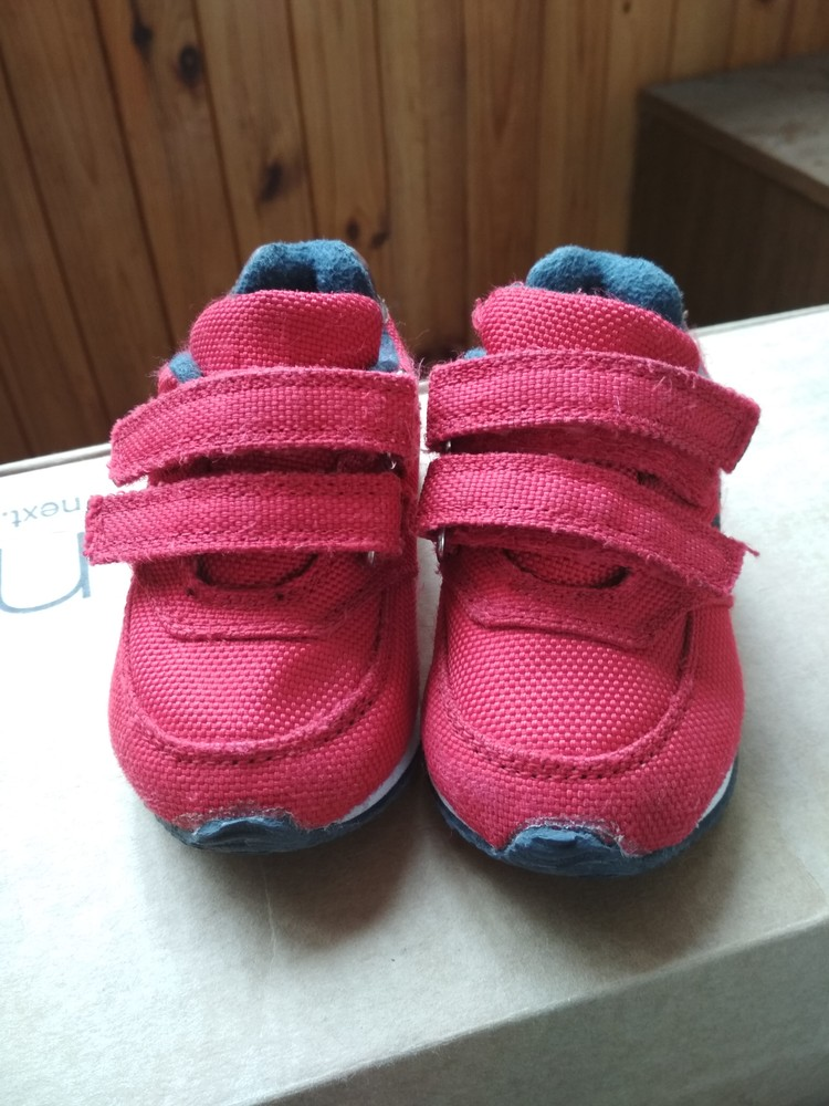 Детские кроссовки oshkosh, оригинал сша, красные, мальчику и девочке, размер us4 eur19 12.5 см фото №2