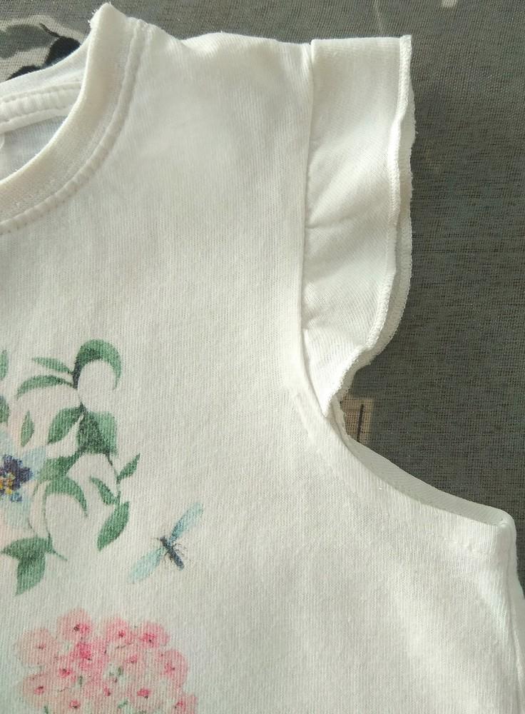 Нежная летняя пижама с цветами next р. 2-3 года фото №4