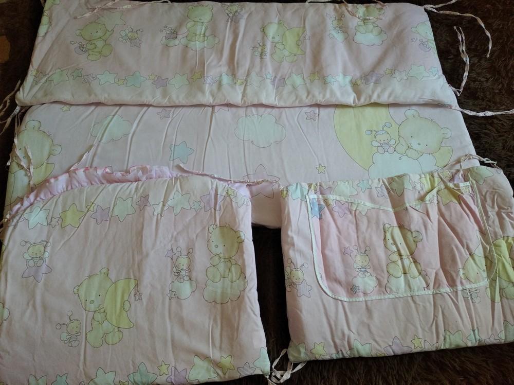 Защита на детскую кроватку бу фото №1
