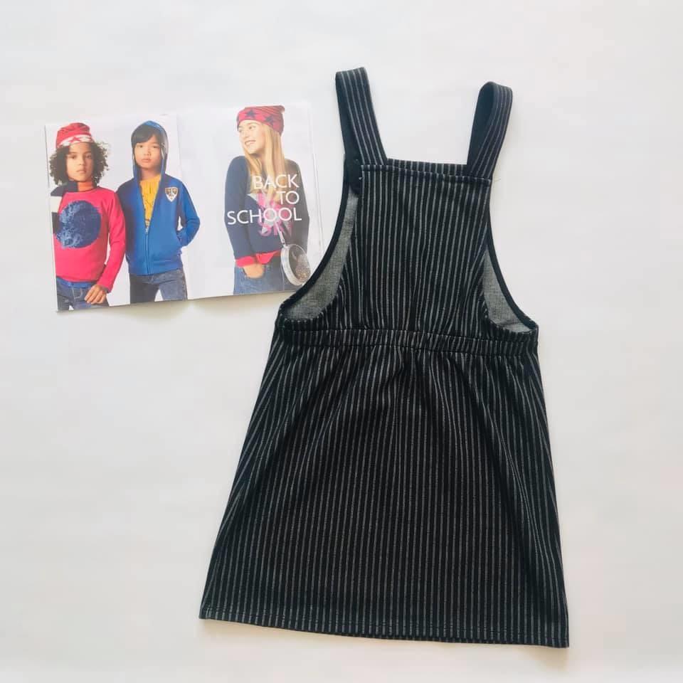 Школа - next - мега стильный сарафан в полоску, есть карманчик р140/146 фото №4