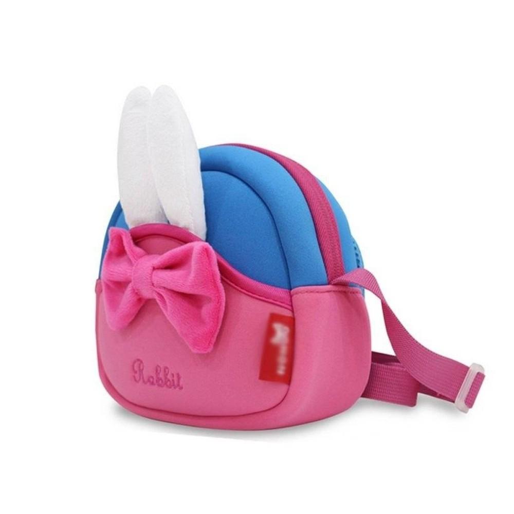 Школа - nohoo сумка rabbit - с ушками кролика и бантиком, много отделений фото №3
