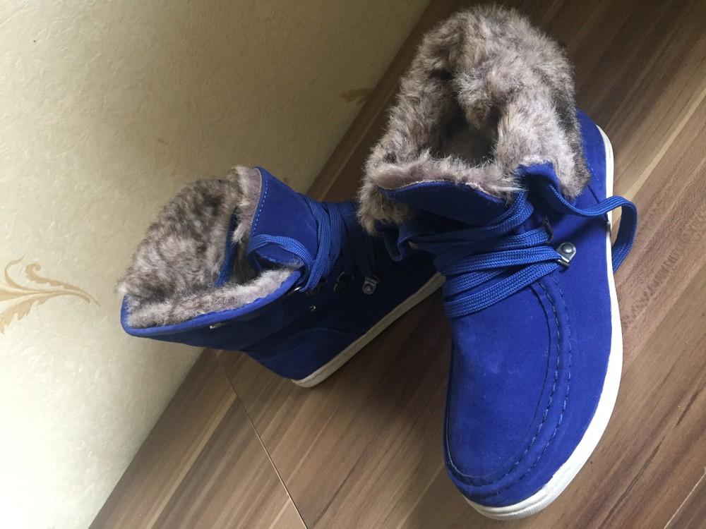 Стильні черевички утеплені. розмір 38 маломірки фото №1