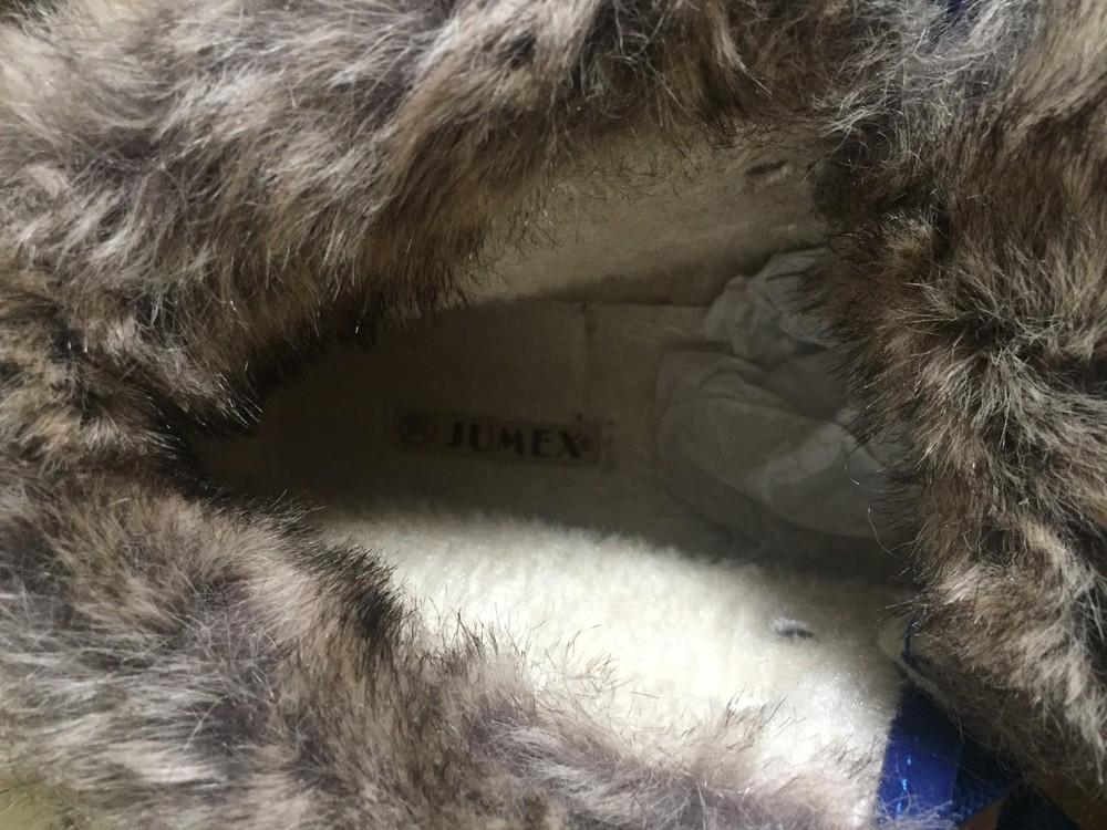 Стильні черевички утеплені. розмір 38 маломірки фото №2