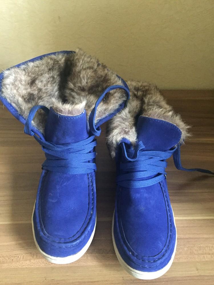 Стильні черевички утеплені. розмір 38 маломірки фото №4