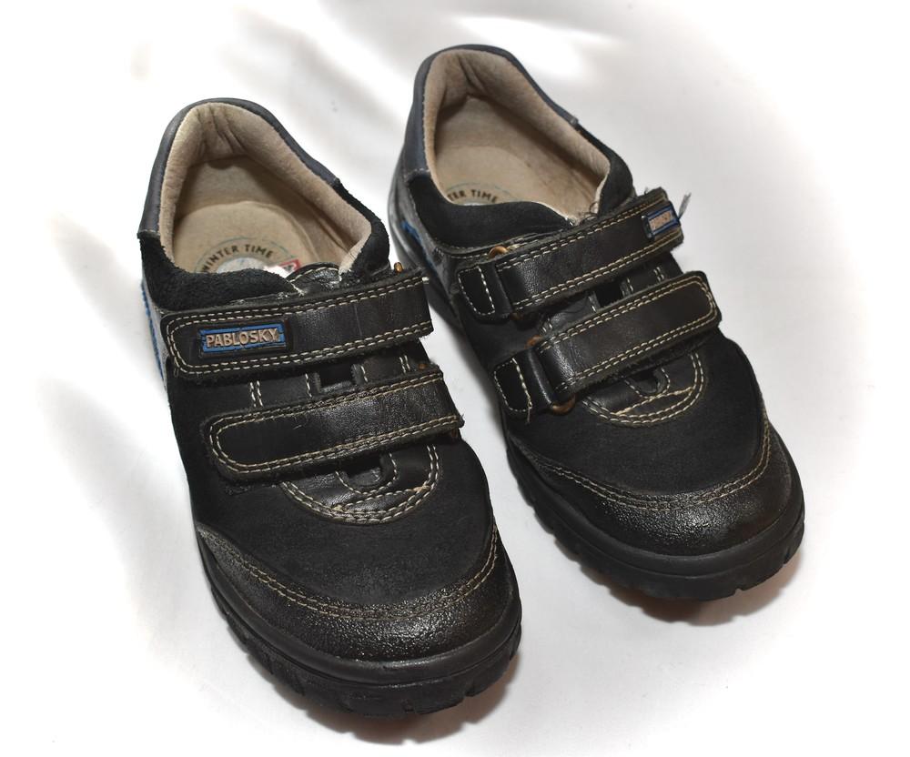 Ботинки, кроссовки, туфли на мальчика pablosky. размер 30 фото №3