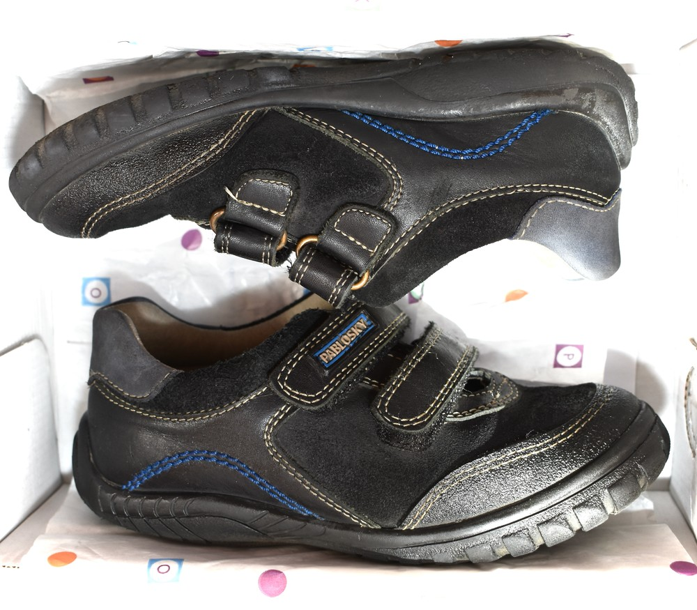 Ботинки, кроссовки, туфли на мальчика pablosky. размер 30 фото №6
