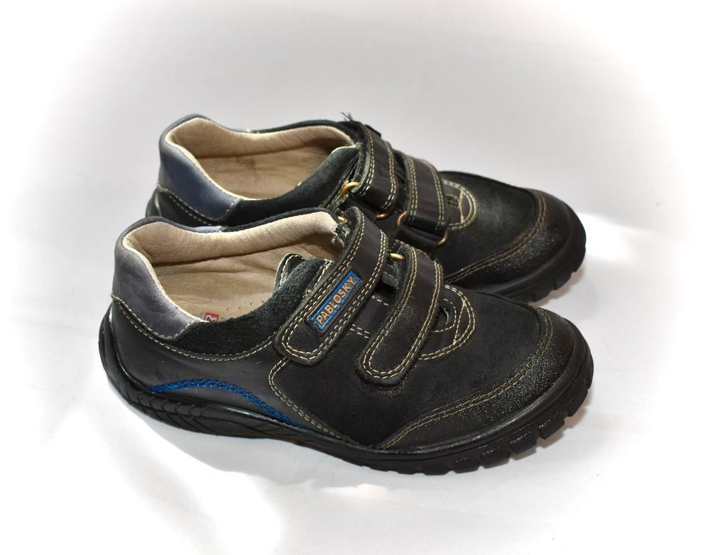 Ботинки, кроссовки, туфли на мальчика pablosky. размер 30 фото №1
