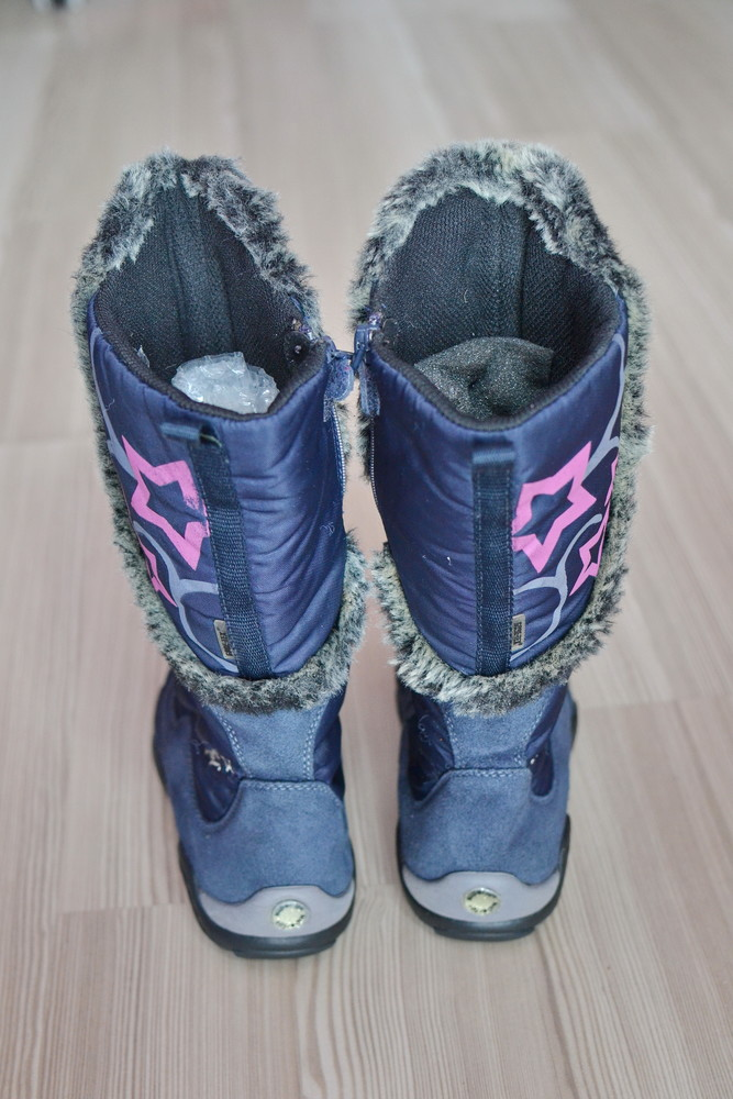 Модные фирменные технологичные сапожки superfit core-tex фото №5