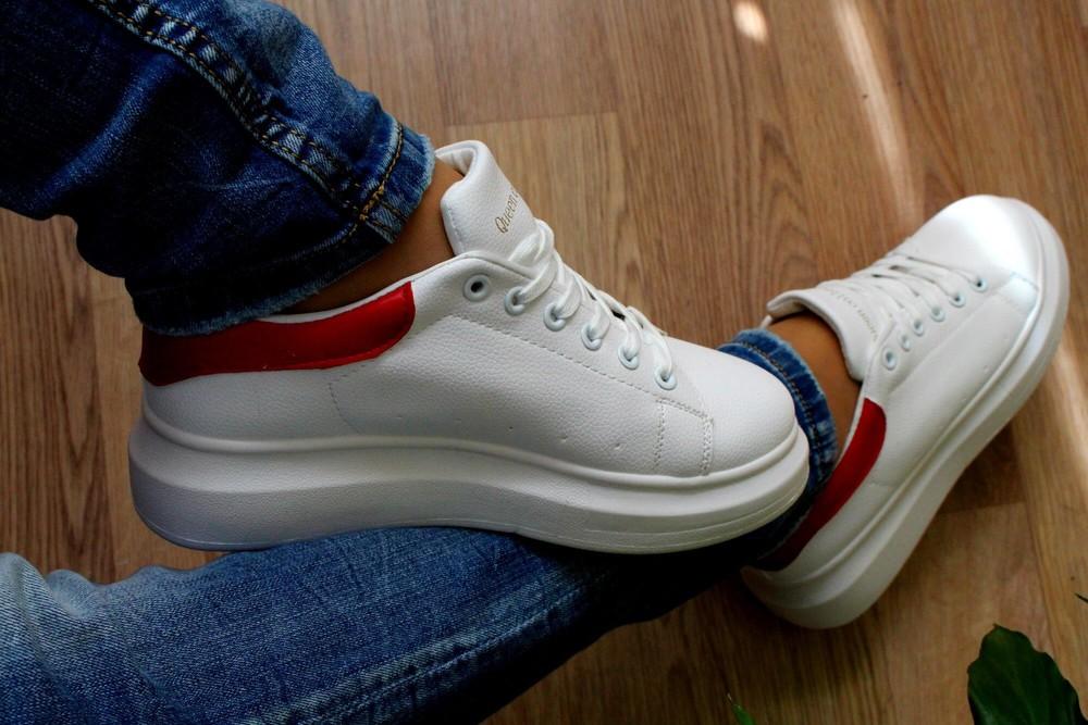Кроссовки в стиле alexander mcqueen фото №4