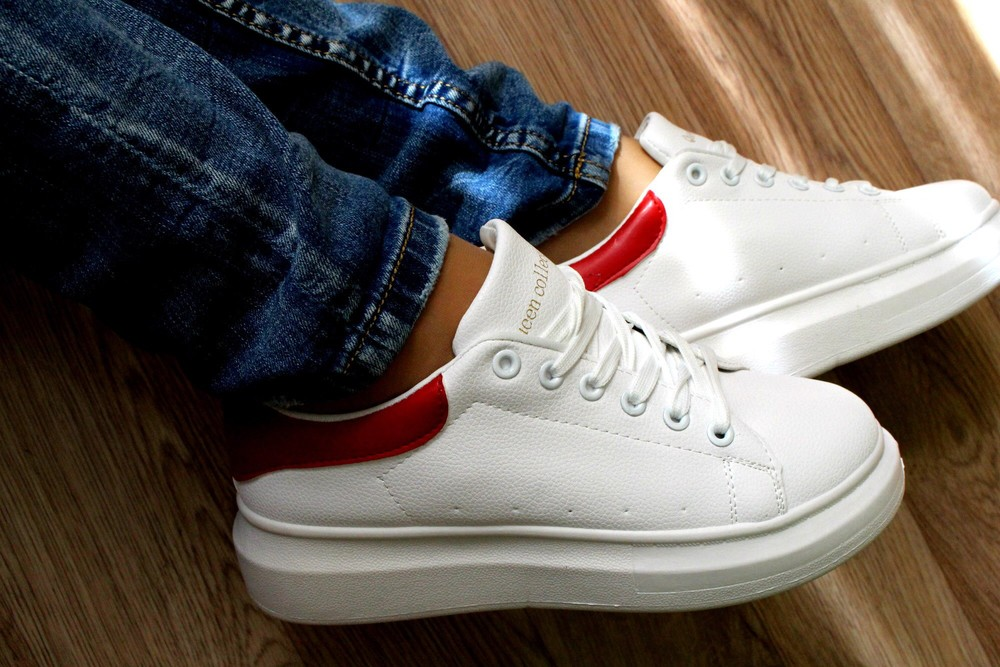 Кроссовки в стиле alexander mcqueen фото №1