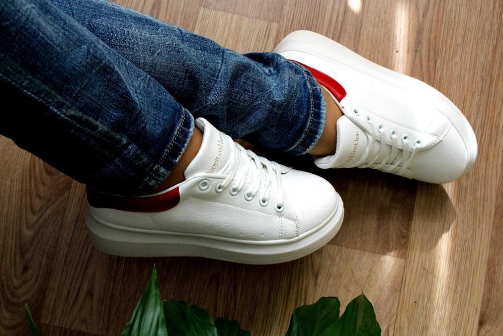 Кроссовки в стиле alexander mcqueen фото №2