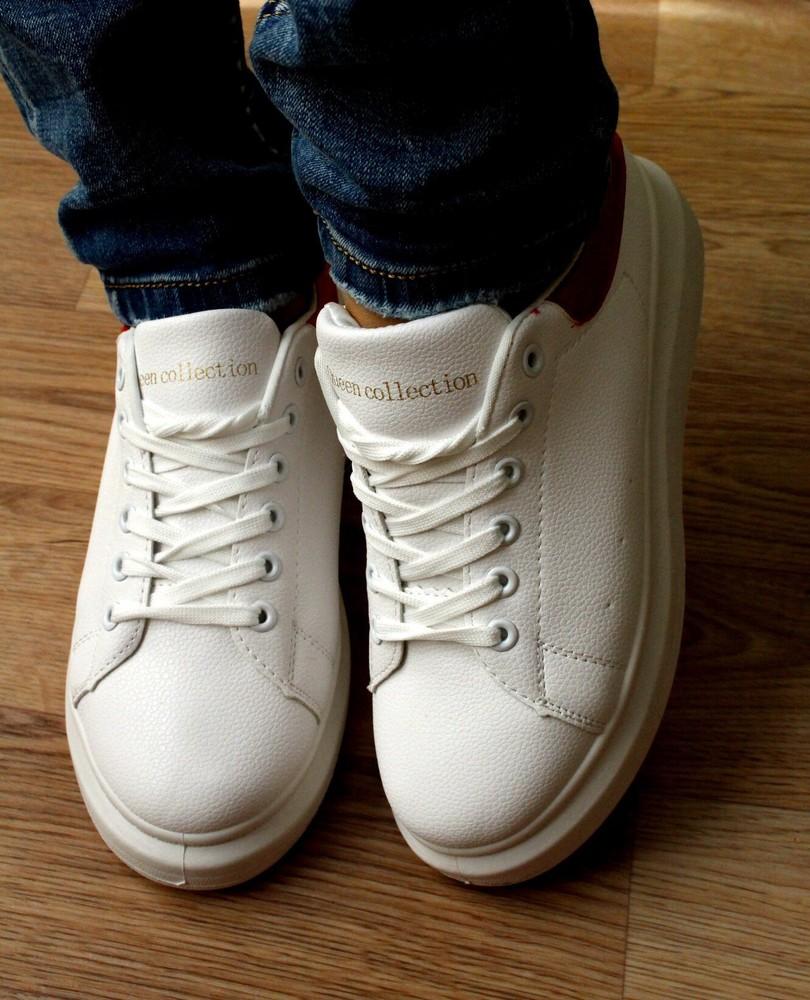 Кроссовки в стиле alexander mcqueen фото №3