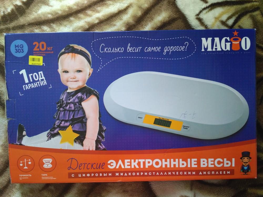 Електронні дитячі ваги mg-303 фото №1