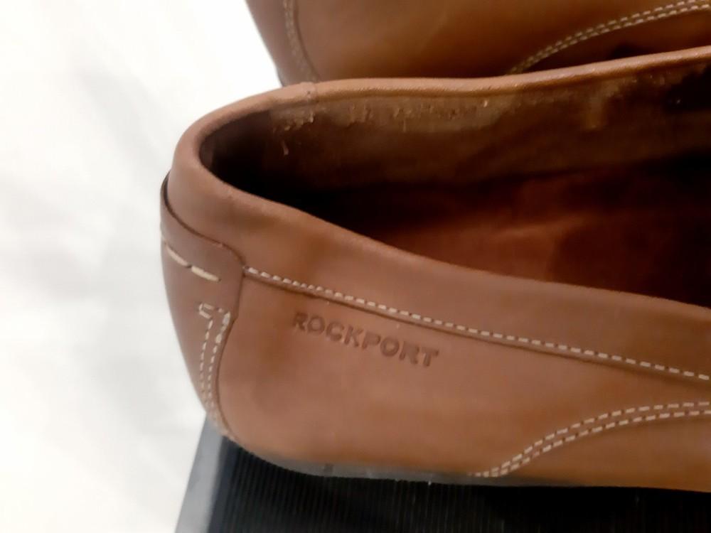 Туфли лоферы мужские rockport by adidas фото №9