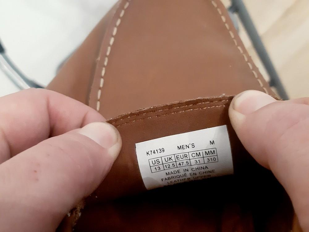 Туфли лоферы мужские rockport by adidas фото №6