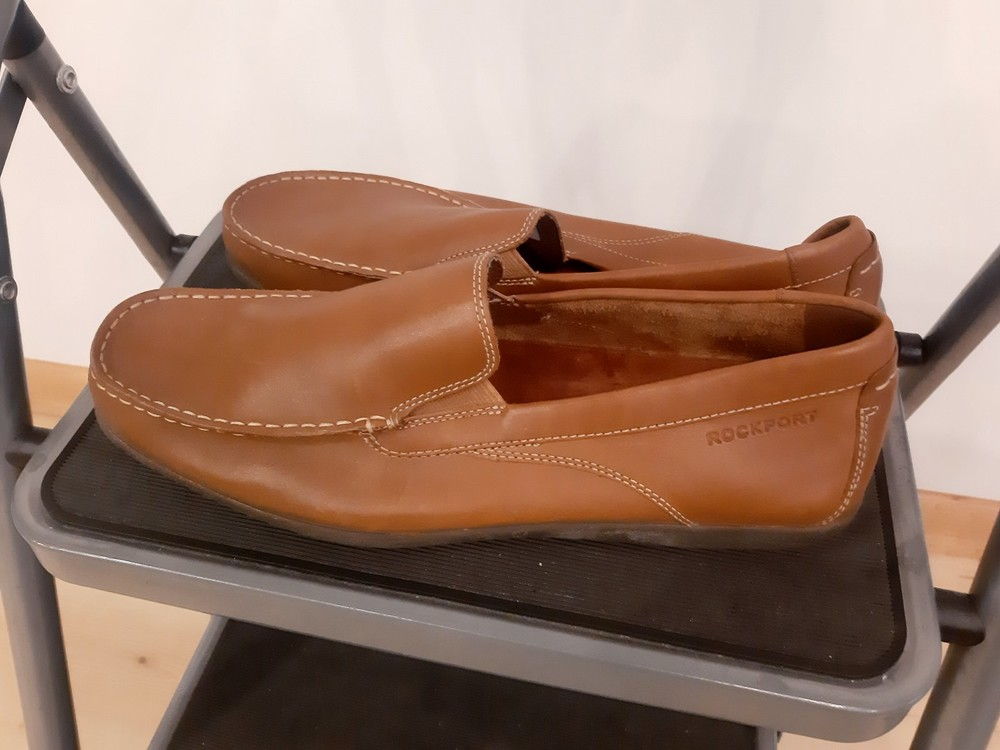 Туфли лоферы мужские rockport by adidas фото №7