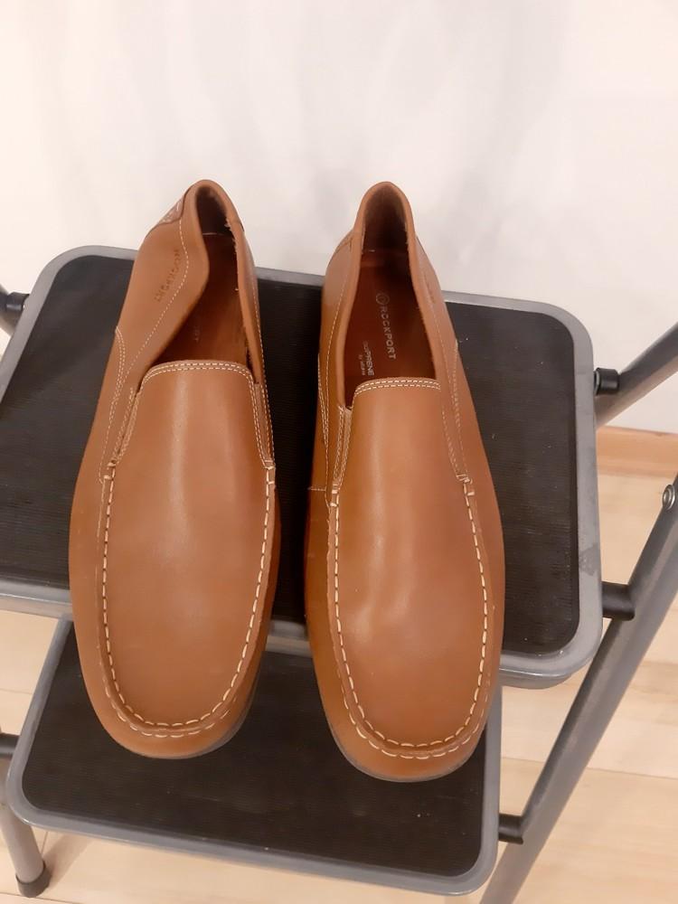Туфли лоферы мужские rockport by adidas фото №8