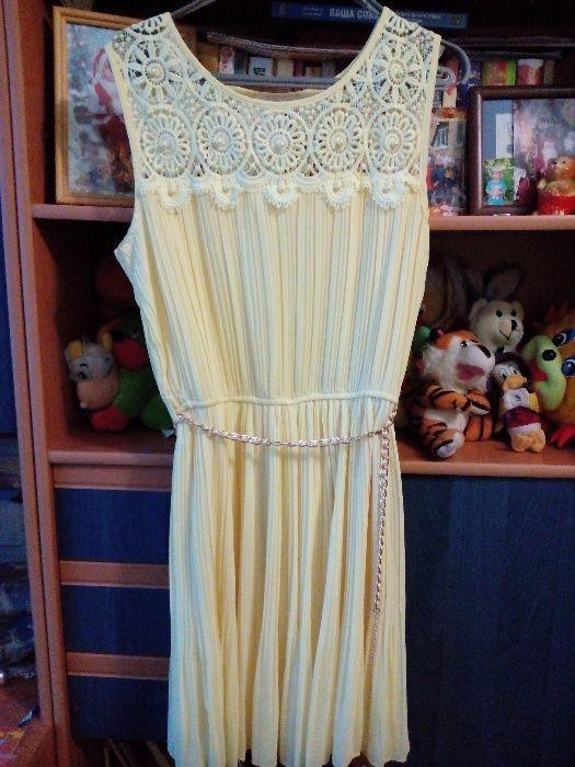 Шикарное летнее платье, 44-46 фото №1